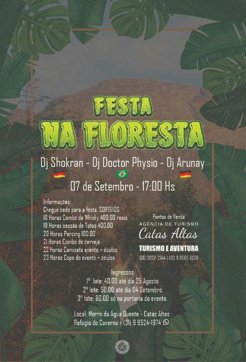 Festa na Floresta 7 Sep '19, 17:00