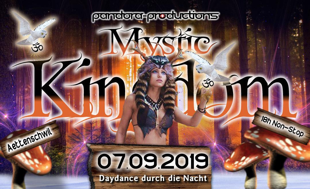 Mystic Kingdom - Daydance durch die Nacht 7 Sep '19, 12:00