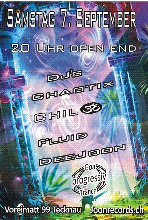 Proggi Goa Trance 7 Sep '19, 20:00
