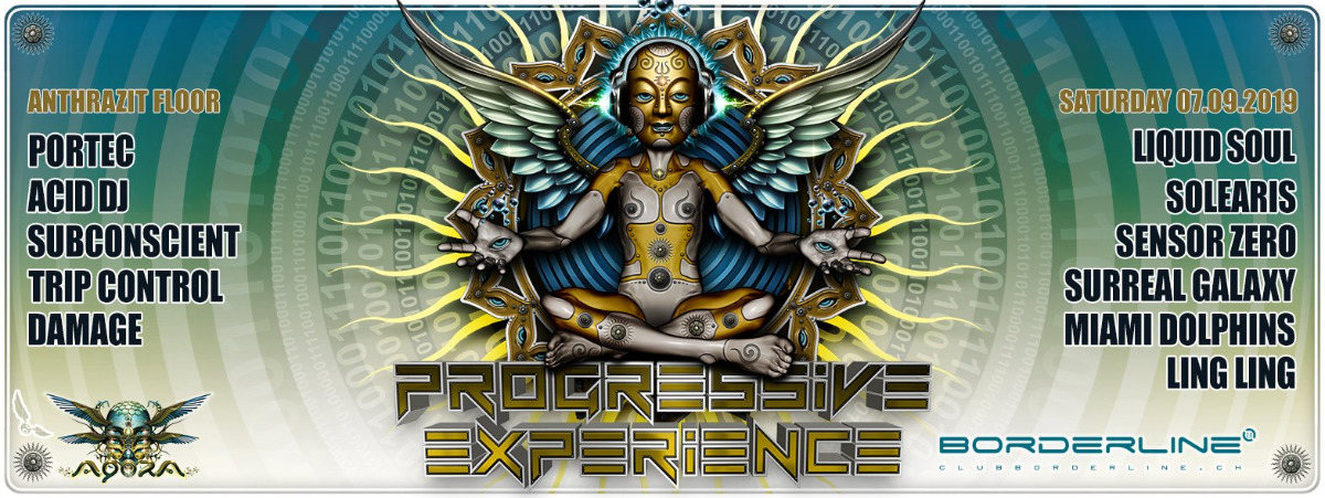 Progressive Experience with Liquid Soul 7 Sep '19, 23:00