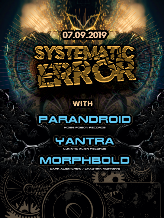 Systematic Error with Parandroid & Yantra 7 Sep '19, 22:00