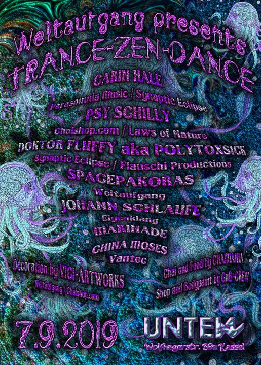 Trance-Zen-Dance 7 Sep '19, 23:00