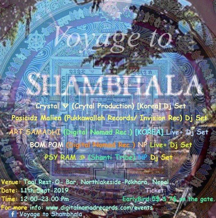 Voyage to Shambhala 11 Sep '19, 12:00