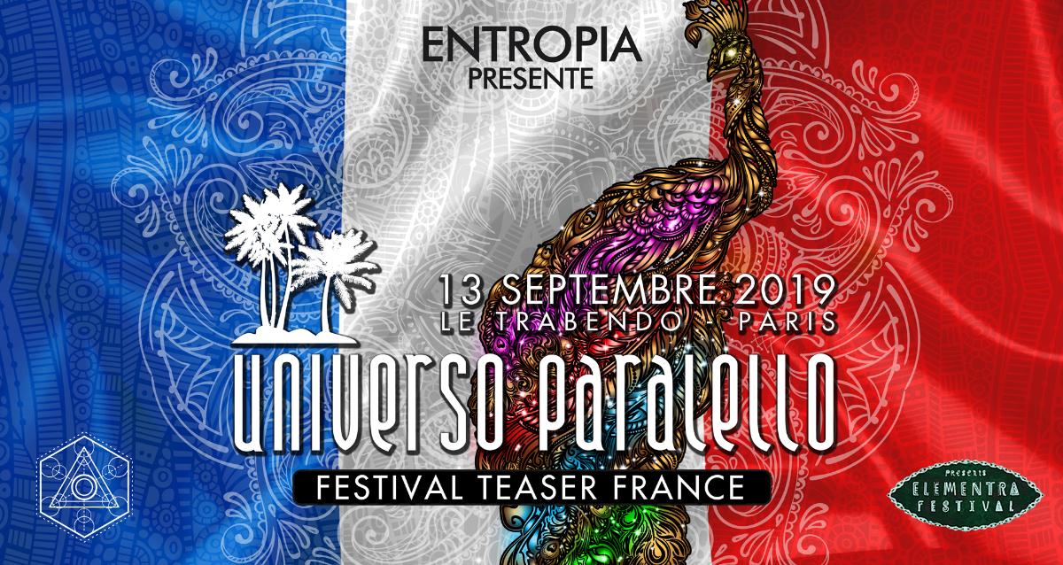 UNIVERSO PARALELLO FESTIVAL TEASER FRANCE 13 Sep '19, 23:30