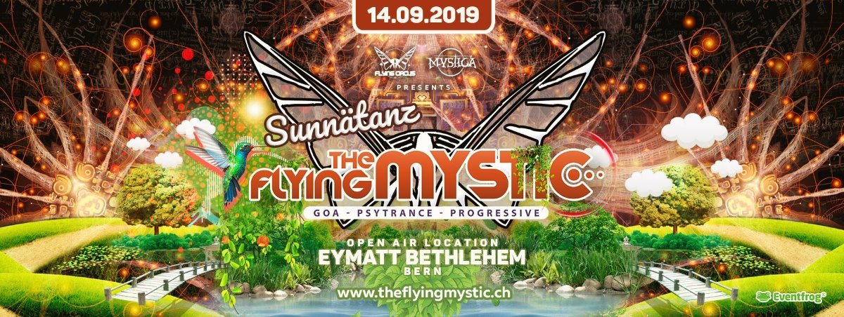 "The Flying Mystic ""Sunnätanz - Duss im Schuss"" 14 Sep '19, 11:00"