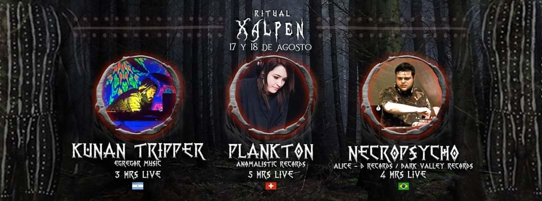 Ritual Xalpen 17 Aug '19, 21:00