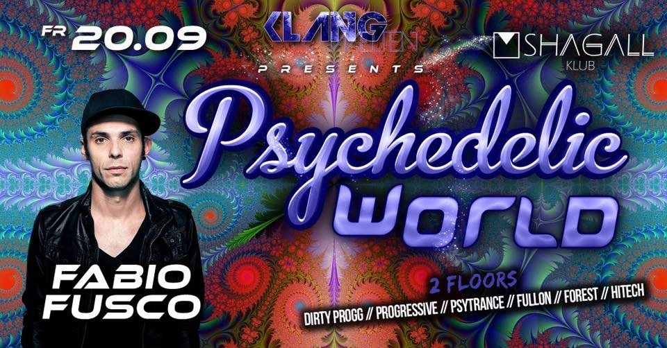 Psychedelic World   Fabio Fusco Live 20 Sep '19, 23:00