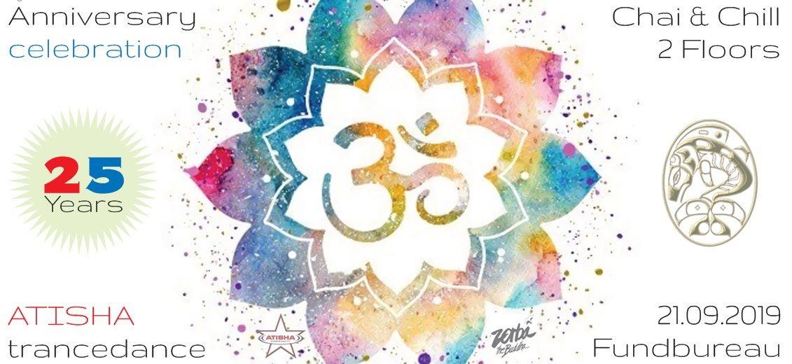 Atisha´s trancedance Special - 25 Anniversary Celebration 21 Sep '19, 22:00