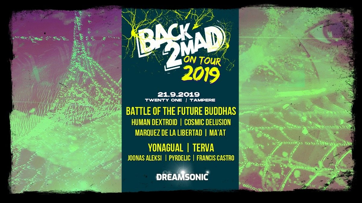 Back2Mad on Tour 2019 21 Sep '19, 21:00