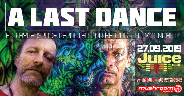 A Last Dance - Retro Psychedelic Dance Celebration 27 Sep '19, 23:00
