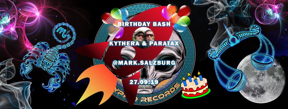 Birthday Bash by Hyprid Rec. 27 Sep '19, 22:00