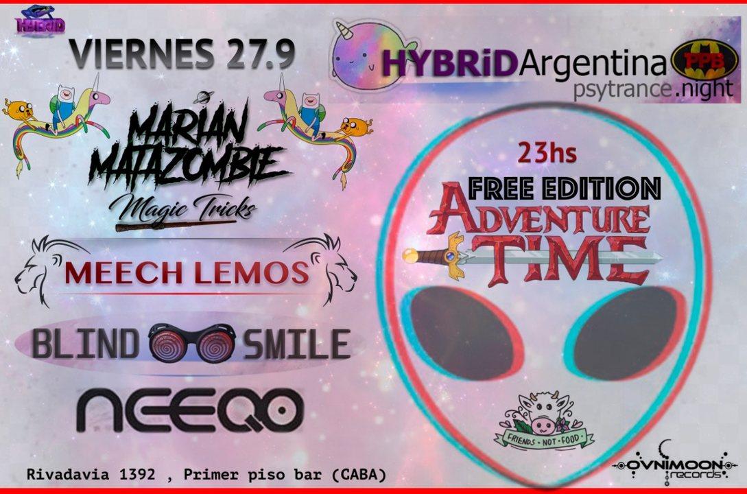 Freepa at PPB // Hybrid Argentina // Psytrance 27.9.19 27 Sep '19, 23:00