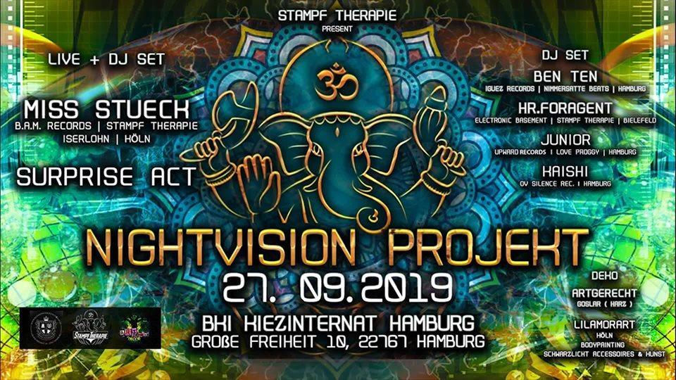 ॐNightVision Projekt ॐ 27 Sep '19, 22:00
