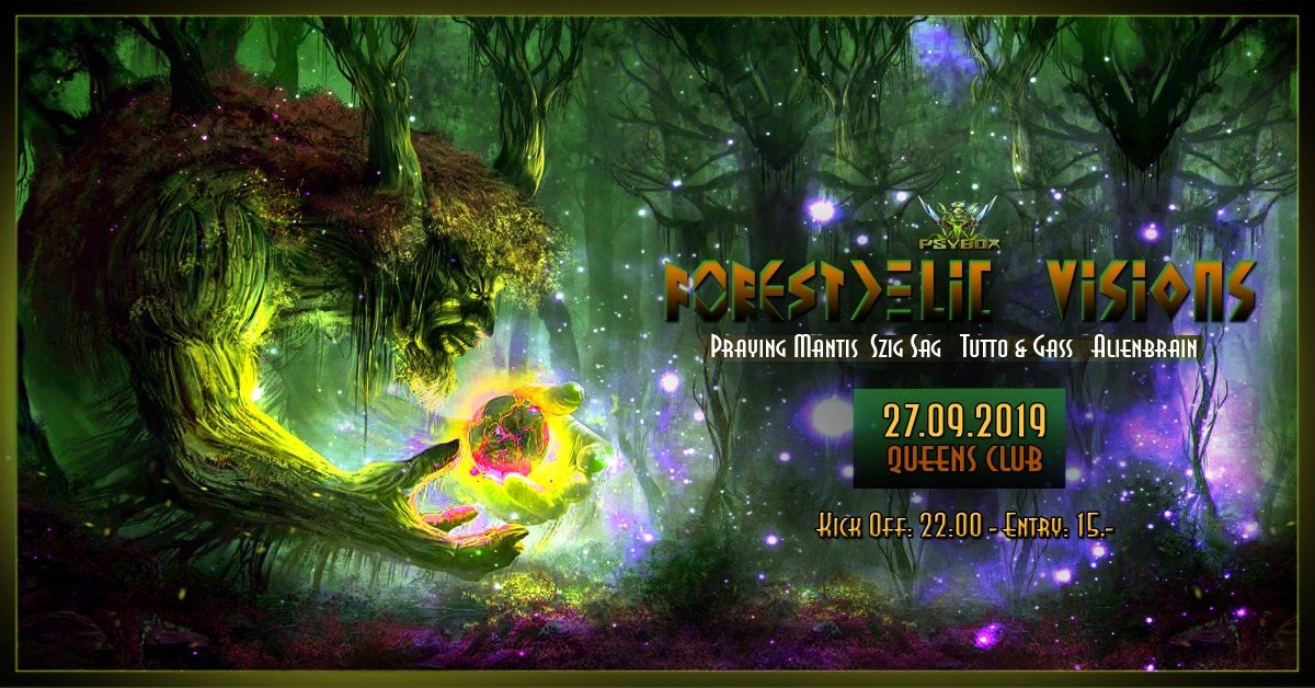 Psybox - Forestdelic Visions 27 Sep '19, 22:00
