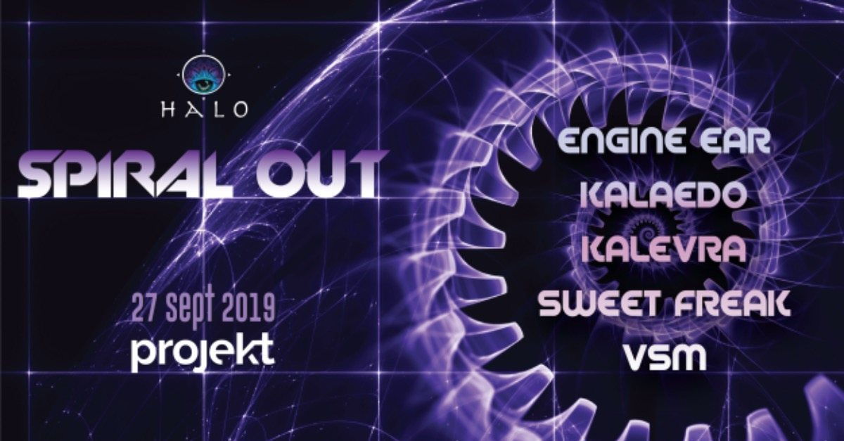 Spiral Out 27 Sep '19, 23:00