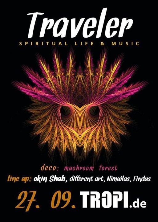 Traveler - spiritual life & music 27 Sep '19, 22:00