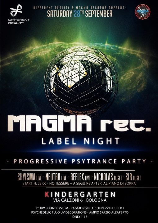 MAGMA Label Night + After 28 Sep '19, 23:00