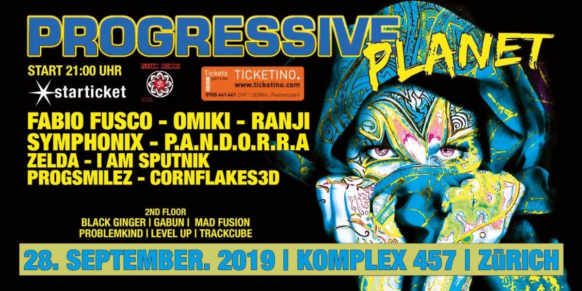 Progressive Planet 28 Sep '19, 21:00