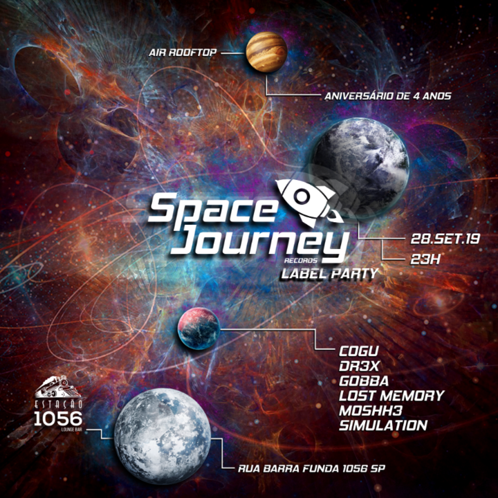 Space Journey Records Label Party 28 Sep '19, 23:00