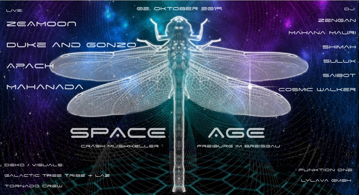 Space Age 2 Oct '19, 22:00