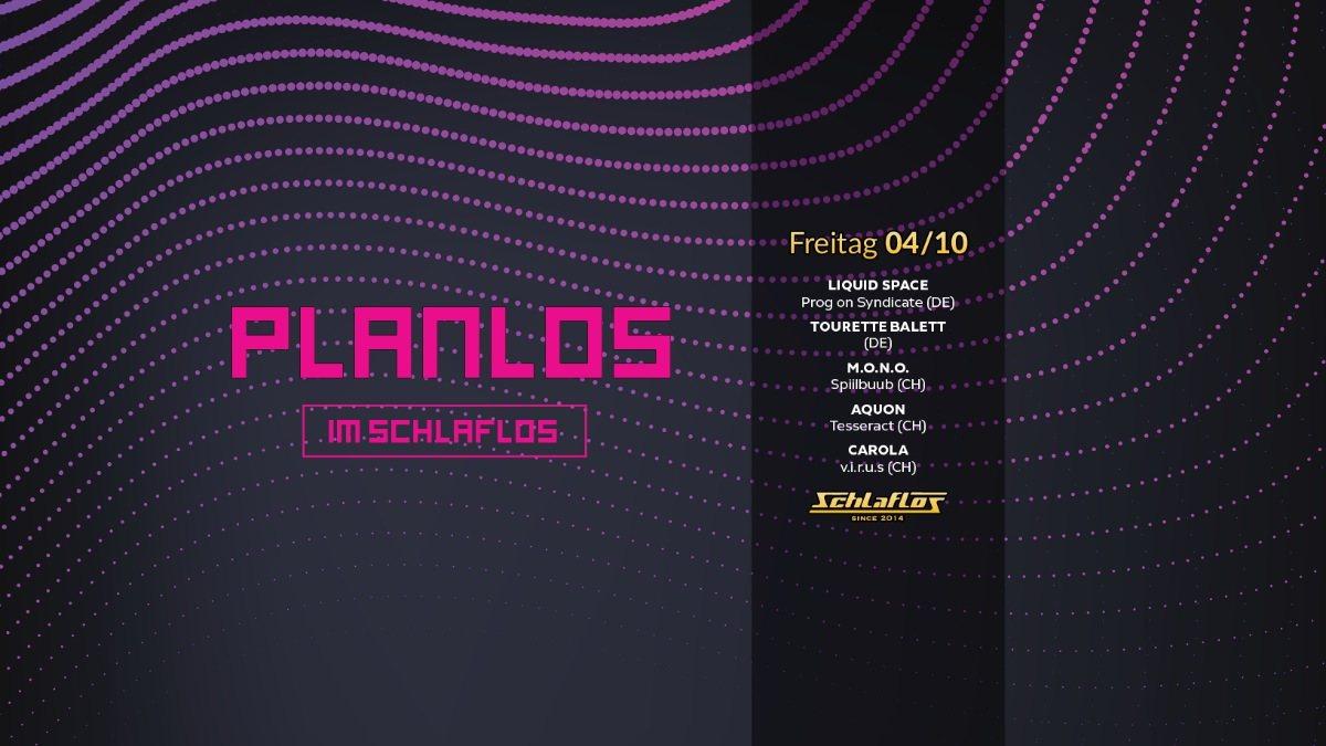 Planlos Im Schlaflos 4 Oct '19, 23:00