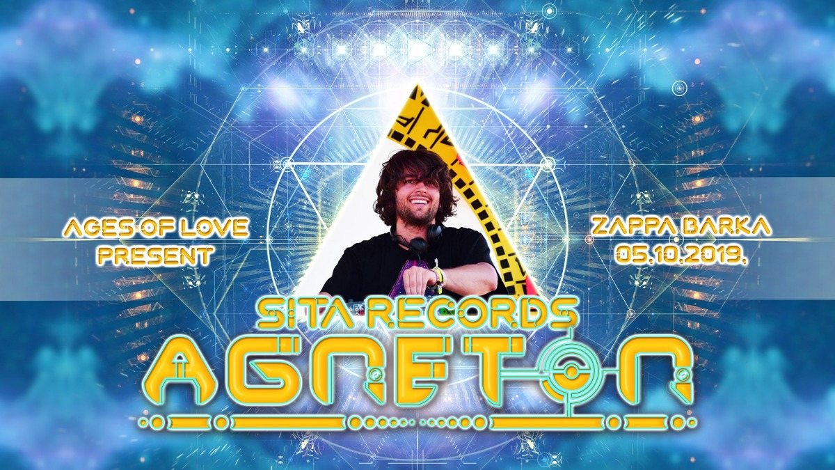 Ages Of Love present: Agneton live! 5 Oct '19, 23:00