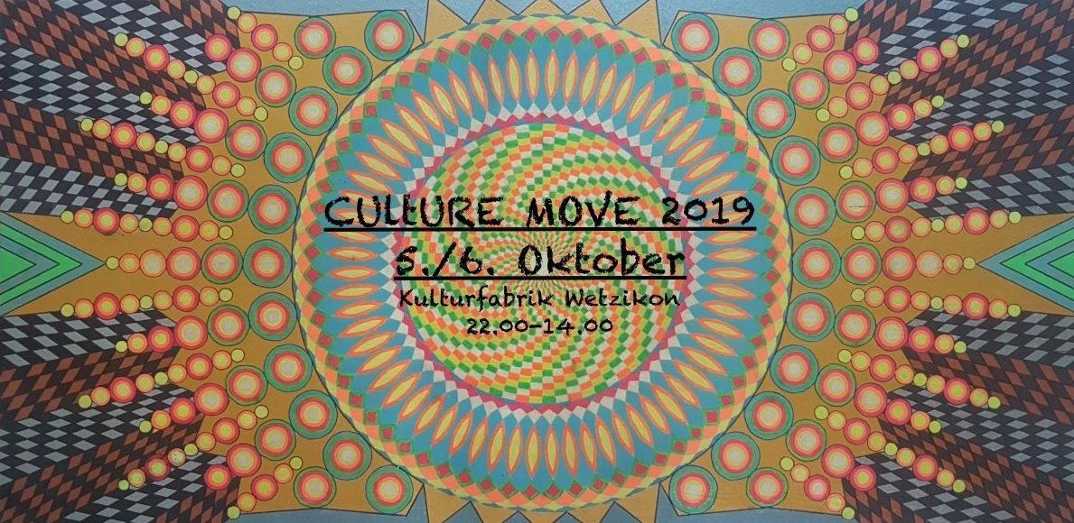Culture Move 2019 5 Oct '19, 21:00