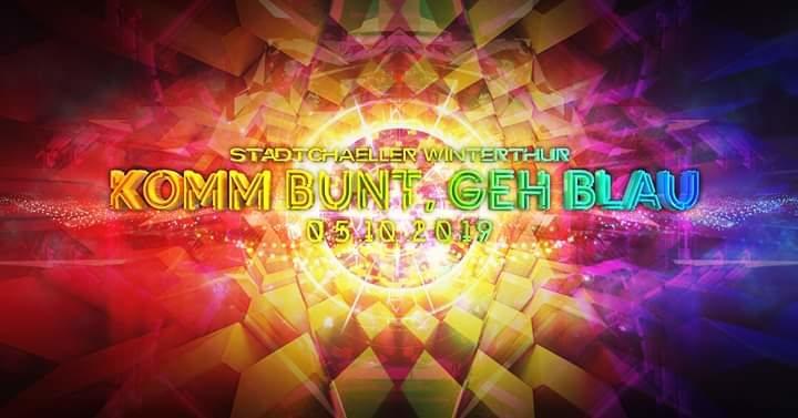 Komm Bunt Geh Blau /Major7&X-Noize/ 5 Oct '19, 23:00
