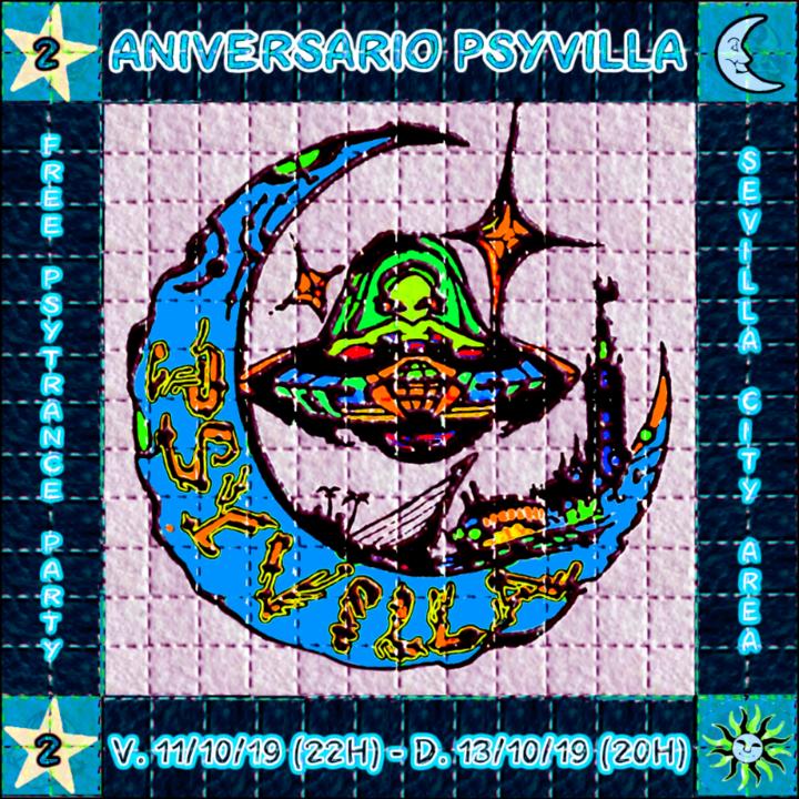 2º ANIVERSARIO PSYVILLA 11 Oct '19, 22:00