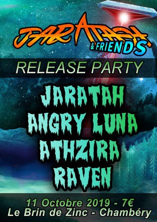 Jaratah Release Party : Jaratah / Angry Luna / Athzira / Raven 11 Oct '19, 20:30