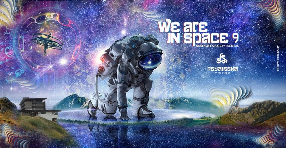 We are in Space-9 Green Life Charity festival 11 Oct '19, 19:00