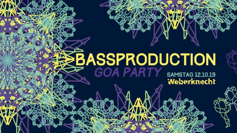 Bassproduction Goa Party 12 Oct '19, 22:00
