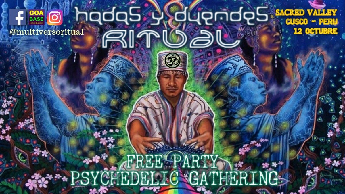 Hadas & Duendes Ritual at Sacred Valley - October 12 & 13 12 Oct '19, 14:00