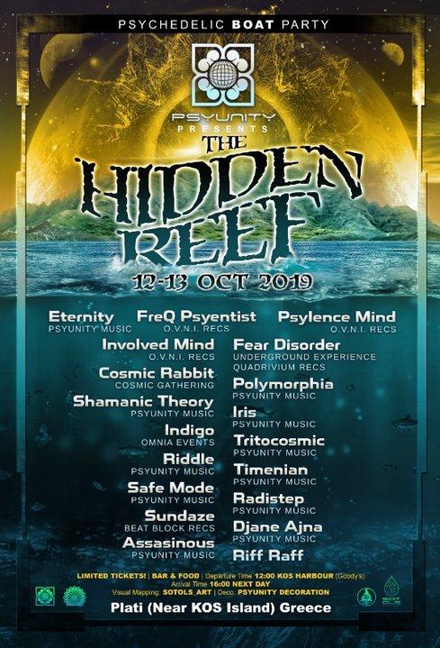 Hidden Reef Boat party 12 Oct '19, 12:00