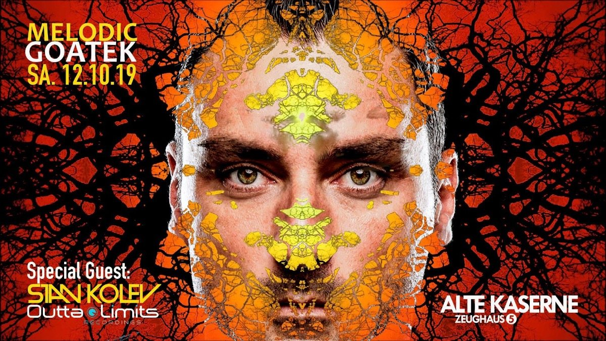 Melodic Goatek w/ Stan Kolev 12 Oct '19, 23:00