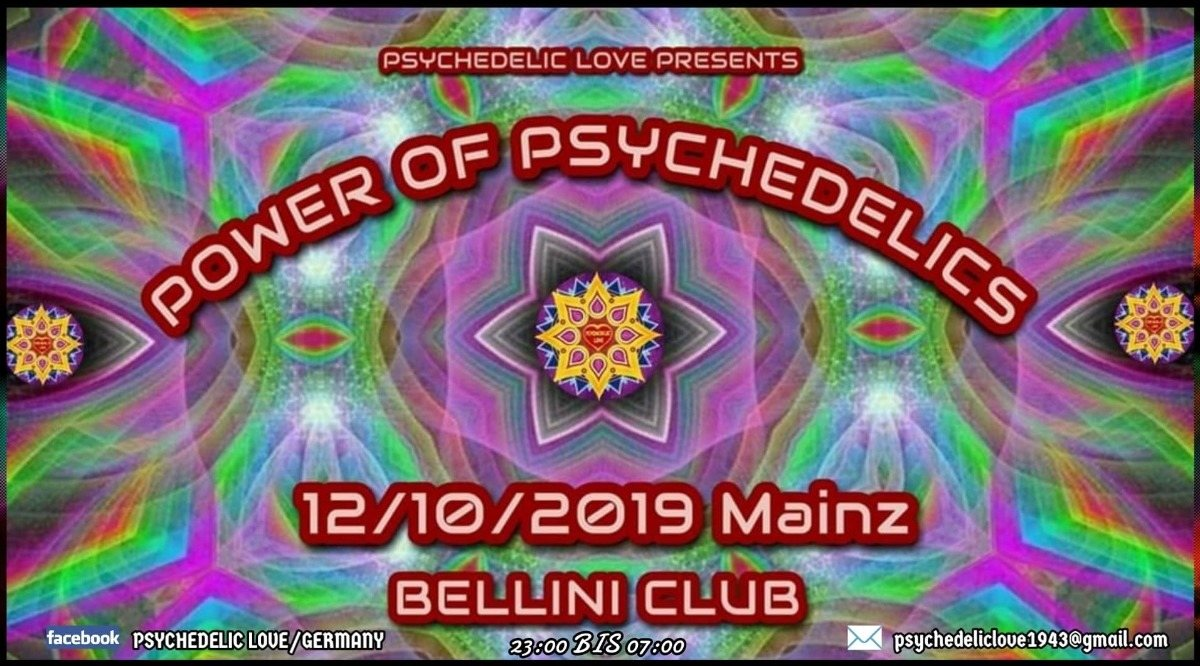 Power of Psychedelics 12 Oct '19, 22:00