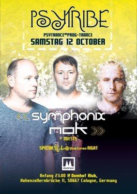 Psytribe mit symphonix&nok 12 Oct '19, 23:00