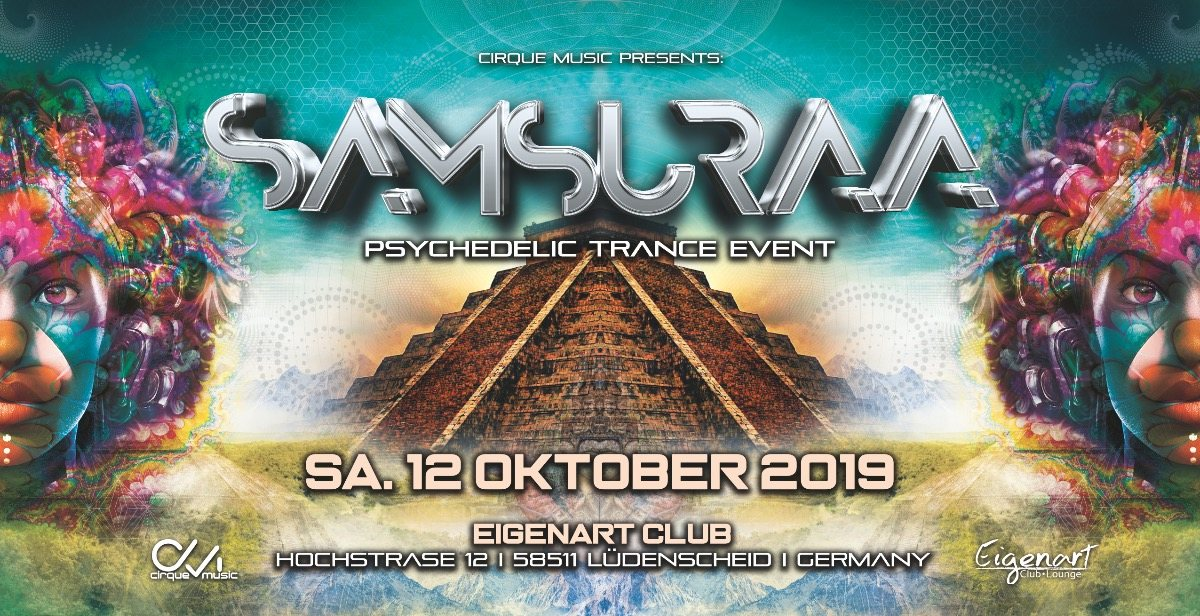 ·•●❂ Samsuraa °nouveau spectacle° ❂●•· 12 Oct '19, 22:00