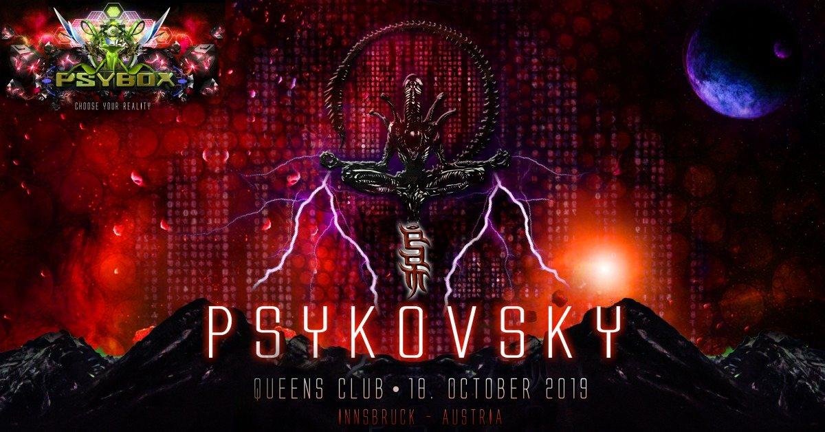 Psybox pres. Psykovsky - 8 Hours Ritual 18 Oct '19, 22:00