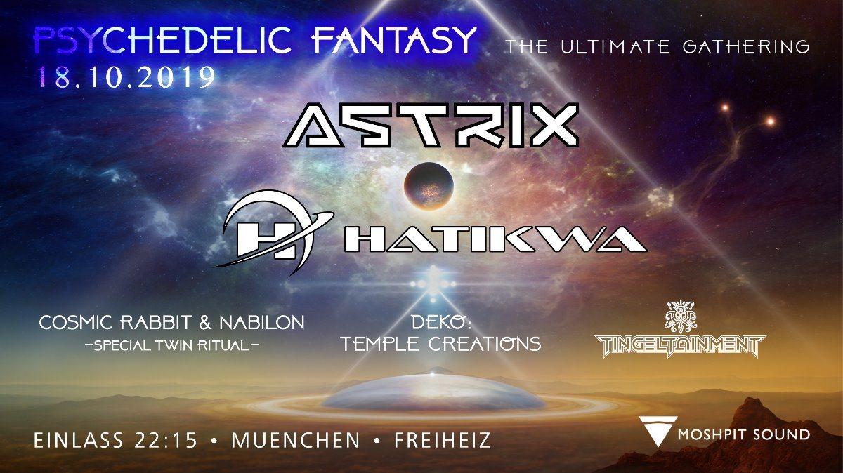 Psychedelic Fantasy ASTRIX 18 Oct '19, 22:30