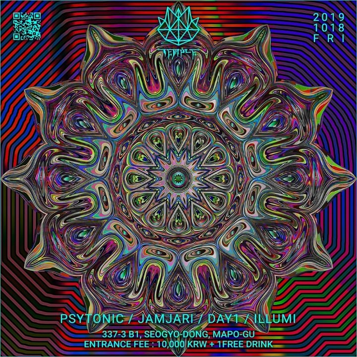 WEEKEND TEMPLE 18 Oct '19, 22:00