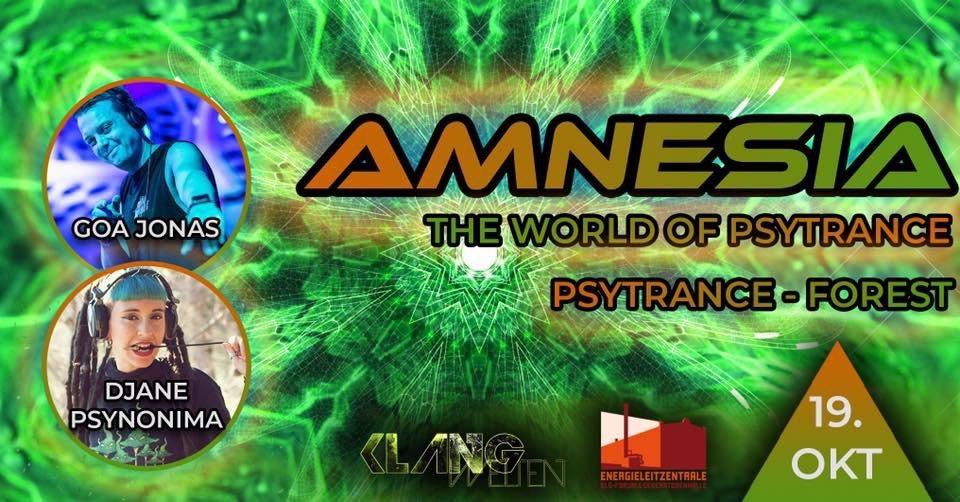 Amnesia The World of Psytrance | Djane Psynonima Live| Goa Jonas 19 Oct '19, 22:00