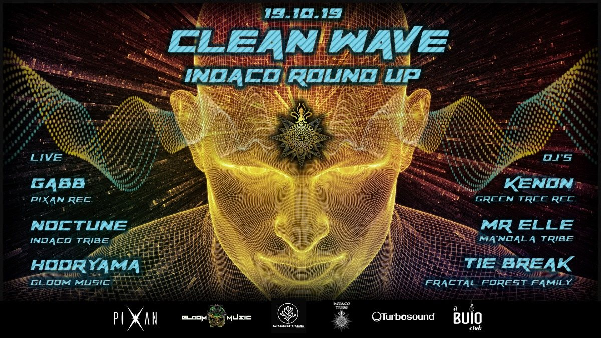 CLEAN WAVE-Indaco Round Up 19 Oct '19, 23:00