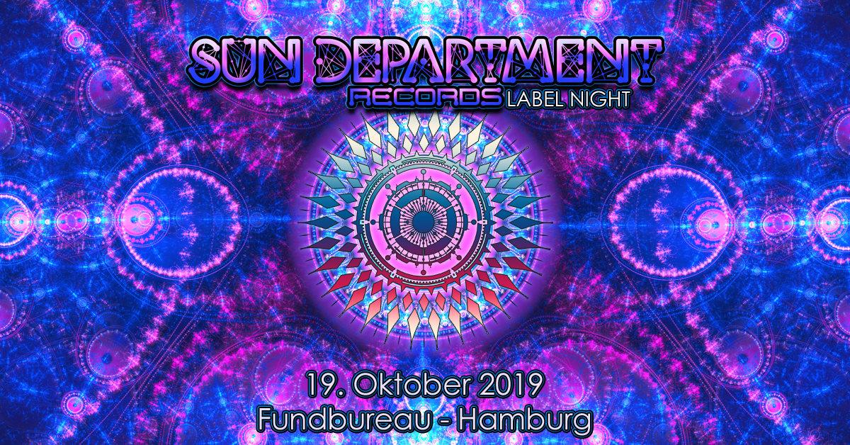Sun Department Records Label Night 19 Oct '19, 23:00
