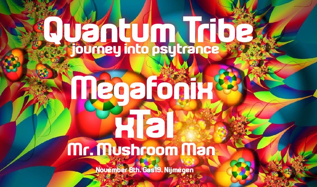 Quantum Tribe (journey into psytrance) 8 Nov '19, 23:00