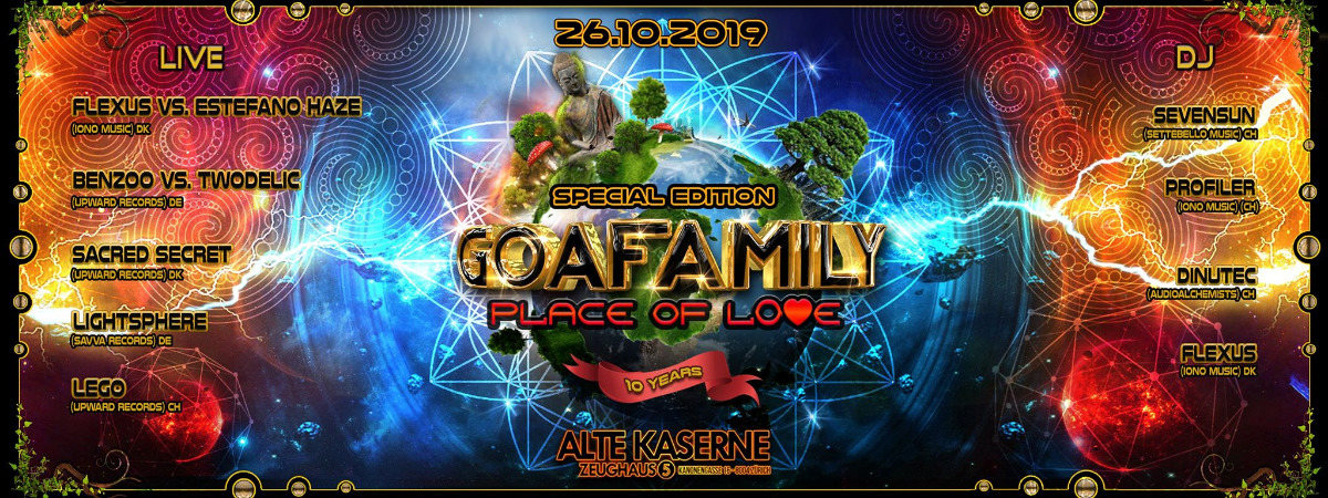 ☆☆☆☆☆ 10 years GOAFAMILY - Place of Love ☆☆☆☆☆ 26 Oct '19, 22:30