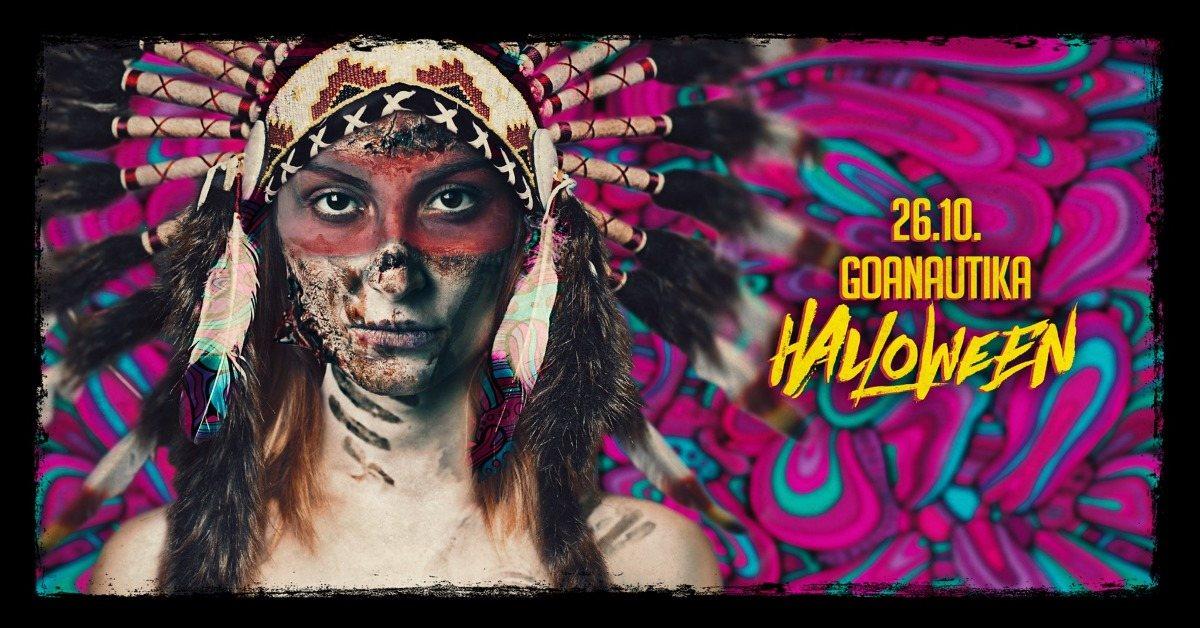 ॐGoanautika Halloween Specialॐ Phaxe,Klopfgeister,Crazy Astronaut 26 Oct '19, 22:00