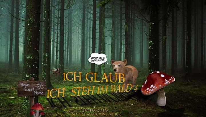 Ich glaub ich steh im Wald 4 /Section303/ShouldB3Banned 26 Oct '19, 23:00