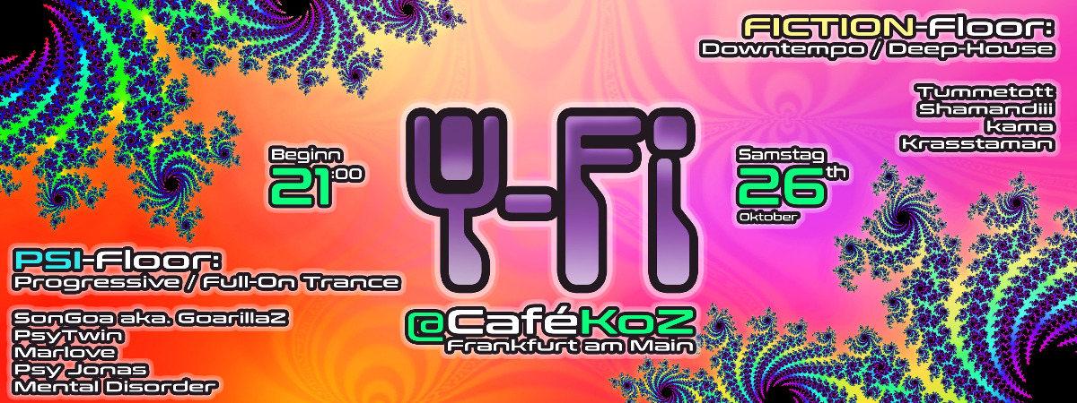 Ψ Psi-Fi Ψ (Eintritt frei*) 26 Oct '19, 21:00