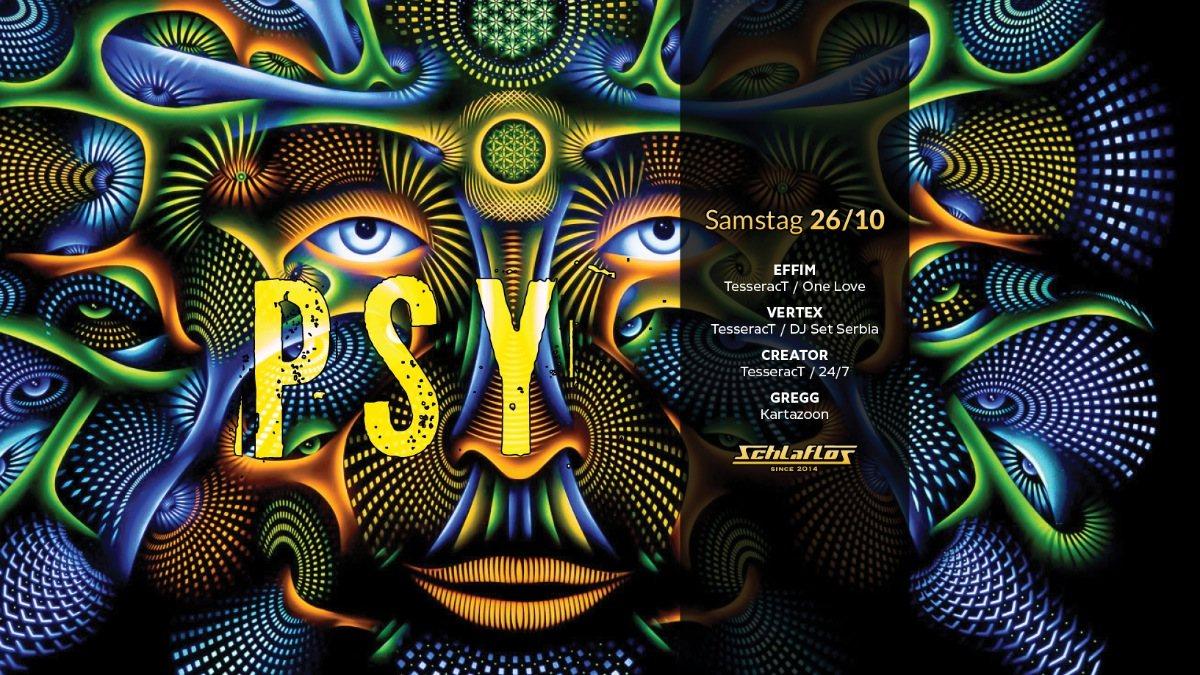 Psy Night at Schlaflos 26 Oct '19, 23:00